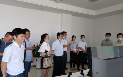 vwin德赢ios德赢vwin官方网站赴合肥港考察调研纪实
